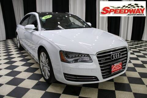 2014 Audi A8 L for sale at SPEEDWAY AUTO MALL INC in Machesney Park IL