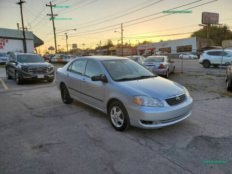 2008 Toyota Corolla for sale at Green Ride Inc in Nashville TN