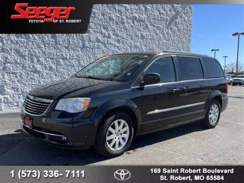2014 Chrysler Town and Country for sale at SEEGER TOYOTA OF ST ROBERT in St Robert MO
