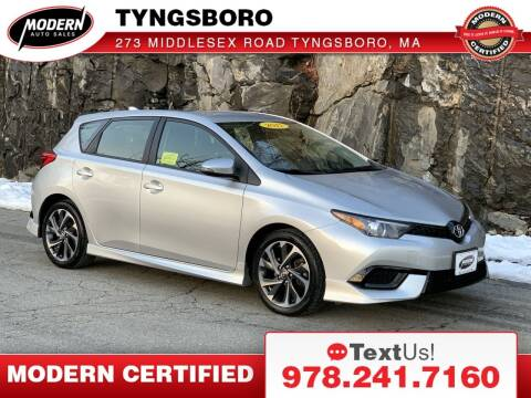 2017 Toyota Corolla iM for sale at Modern Auto Sales in Tyngsboro MA