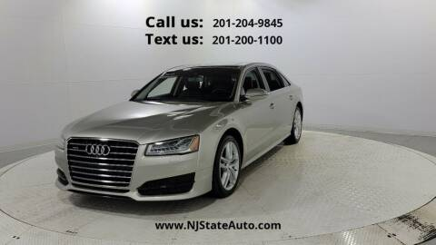 2017 Audi A8 L for sale at NJ State Auto Used Cars in Jersey City NJ