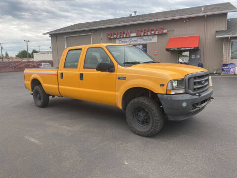 2003 Ford F-250 Super Duty for sale at Dorn Brothers Truck and Auto Sales in Salem OR