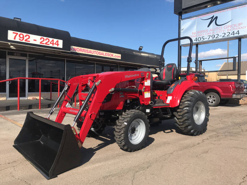 2021 Mahindra 1635 HST with Loader for sale at NORRIS AUTO SALES in Oklahoma City OK