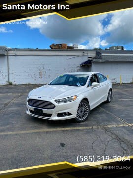 2016 Ford Fusion for sale at Santa Motors Inc in Rochester NY
