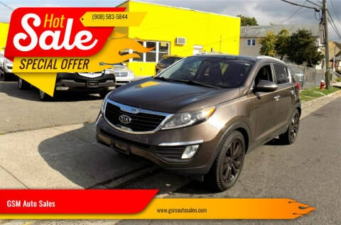 2011 Kia Sportage for sale at GSM Auto Sales in Linden NJ
