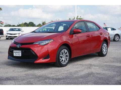 2019 Toyota Corolla for sale at Maroney Auto Sales in Humble TX