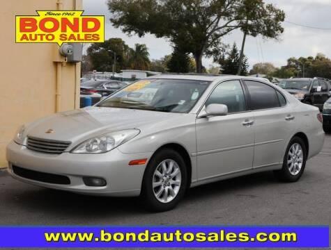 2003 Lexus ES 300 for sale at Bond Auto Sales in St Petersburg FL