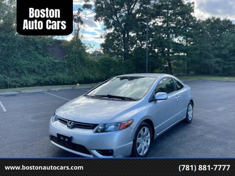 2007 Honda Civic for sale at Boston Auto Cars in Dedham MA