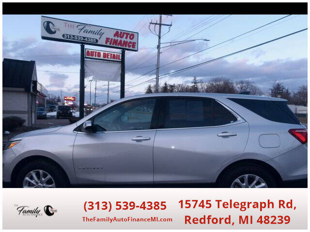 2018 Chevrolet Equinox for sale at The Family Auto Finance in Redford MI