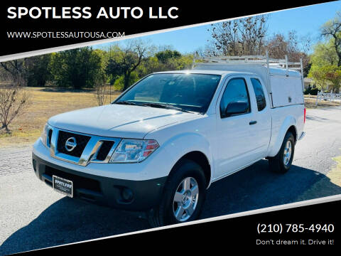 2017 Nissan Frontier for sale at SPOTLESS AUTO LLC in San Antonio TX