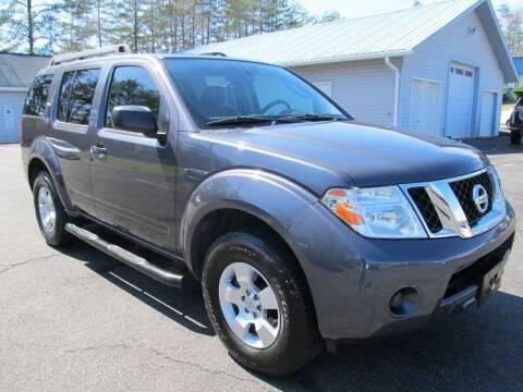 2011 Nissan Pathfinder for sale at Scott's Auto Wholesale LLC in Locust Grove VA