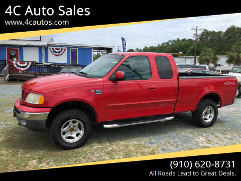 2003 Ford F-150 for sale at 4C Auto Sales in Wilmington NC