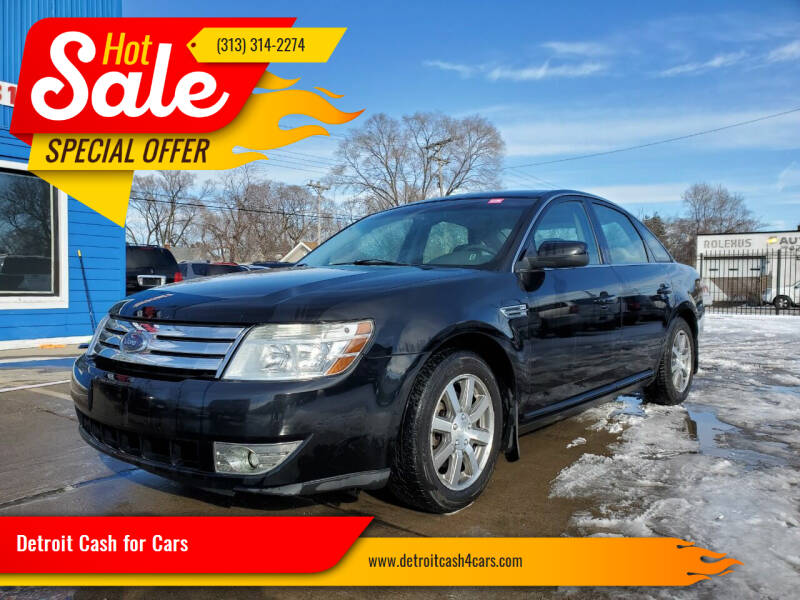 2008 Ford Taurus for sale at Detroit Cash for Cars in Warren MI