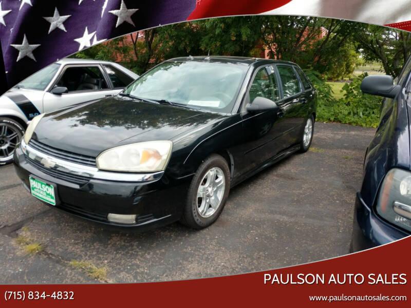 2004 Chevrolet Malibu Maxx for sale at Paulson Auto Sales in Chippewa Falls WI