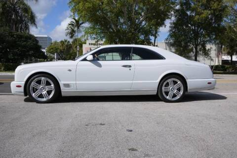 2009 Bentley Brooklands for sale at PERFORMANCE AUTO WHOLESALERS in Miami FL