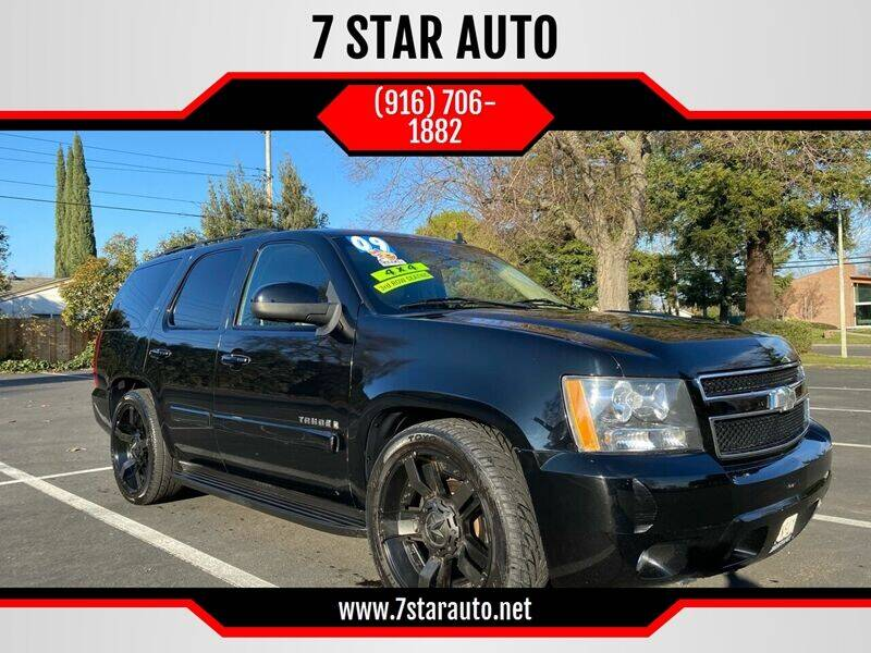 2009 Chevrolet Tahoe for sale at 7 STAR AUTO in Sacramento CA