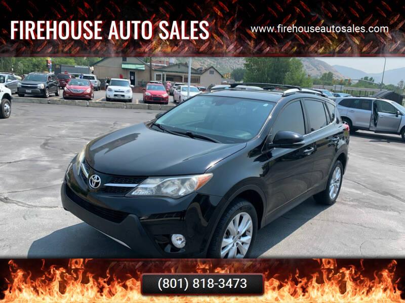 2014 Toyota RAV4 for sale at Firehouse Auto Sales in Springville UT