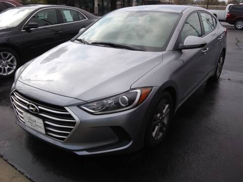 2017 Hyundai Elantra for sale at Village Auto Outlet in Milan IL