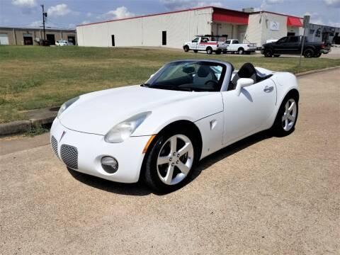 2008 Pontiac Solstice for sale at Image Auto Sales in Dallas TX
