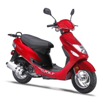 2021 Wolf Brand Scooters RX-50 for sale at Bollman Auto Center in Rock Falls IL