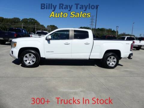 2016 GMC Canyon for sale at Billy Ray Taylor Auto Sales in Cullman AL