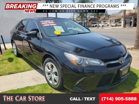 2017 Toyota Camry for sale at The Car Store in Santa Ana CA