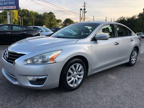 2014 Nissan Altima for sale at Capital Motors in Raleigh NC