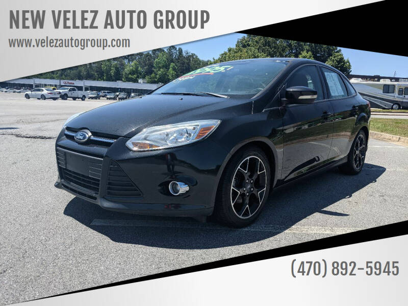 2014 Ford Focus for sale at NEW VELEZ AUTO GROUP in Gainesville GA