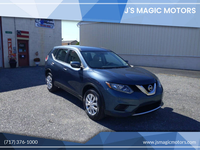 2014 Nissan Rogue for sale at J'S MAGIC MOTORS in Lebanon PA