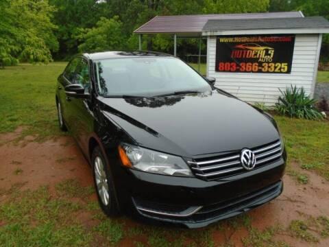 2014 Volkswagen Passat for sale at Hot Deals Auto LLC in Rock Hill SC