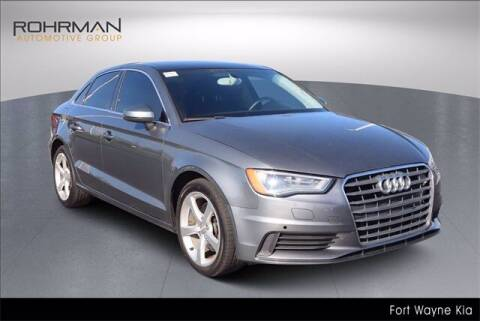 2015 Audi A3 for sale at BOB ROHRMAN FORT WAYNE TOYOTA in Fort Wayne IN