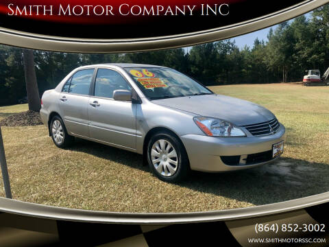 2006 Mitsubishi Lancer for sale at Smith Motor Company INC in Mc Cormick SC