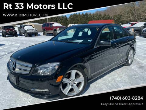 2011 Mercedes-Benz C-Class for sale at Rt 33 Motors LLC in Rockbridge OH