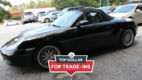 2001 Porsche Boxster for sale at NORCROSS MOTORSPORTS in Norcross GA
