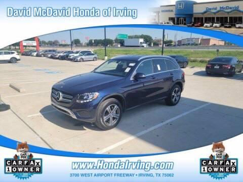 2016 Mercedes-Benz GLC for sale at DAVID McDAVID HONDA OF IRVING in Irving TX