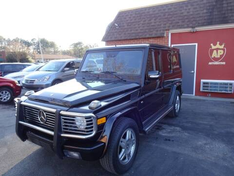 2003 Mercedes-Benz G-Class for sale at AP Automotive in Cary NC