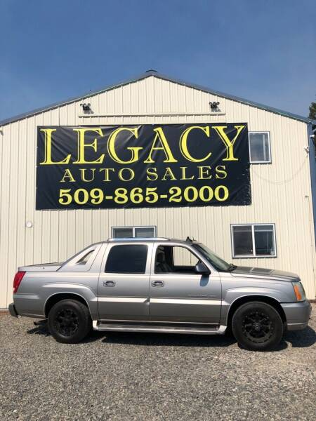 2003 Cadillac Escalade EXT for sale at Legacy Auto Sales in Toppenish WA