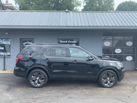 2018 Ford Explorer for sale at Auto Credit Connection LLC in Uniontown PA