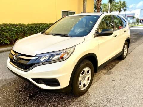 2015 Honda CR-V for sale at DENMARK AUTO BROKERS in Riviera Beach FL