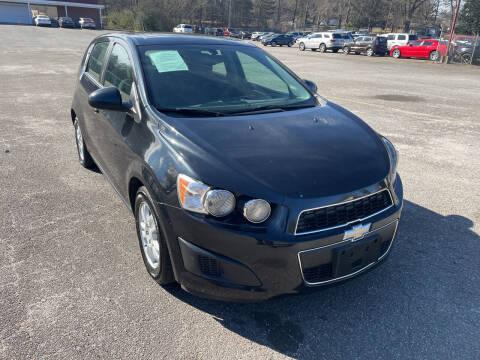 2014 Chevrolet Sonic for sale at Certified Motors LLC in Mableton GA