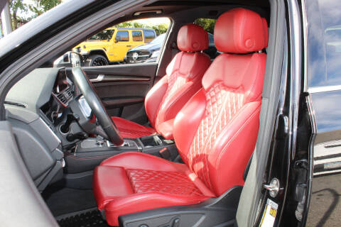 2018 Audi SQ5 for sale at MIKEY AUTO INC in Hollis NY