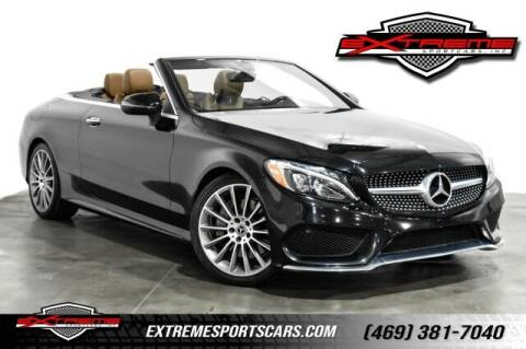 2017 Mercedes-Benz C-Class for sale at EXTREME SPORTCARS INC in Carrollton TX
