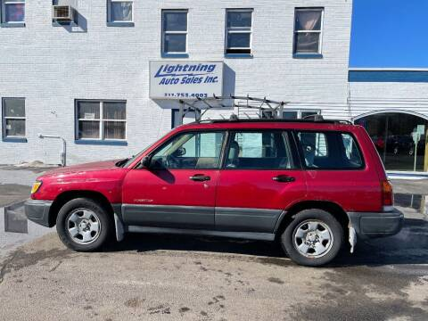 1998 Subaru Forester for sale at Lightning Auto Sales in Springfield IL