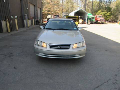 2001 Toyota Camry for sale at Heritage Truck and Auto Inc. in Londonderry NH
