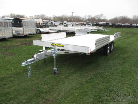 2022 Aluma Utility A8818TA-EL-R for sale at Rondo Truck & Trailer in Sycamore IL