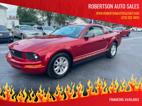 2007 Ford Mustang for sale at ROBERTSON AUTO SALES in Bowling Green KY