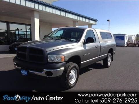 2005 Dodge Ram Pickup 2500 for sale at PARKWAY AUTO CENTER AND RV in Deer Park WA