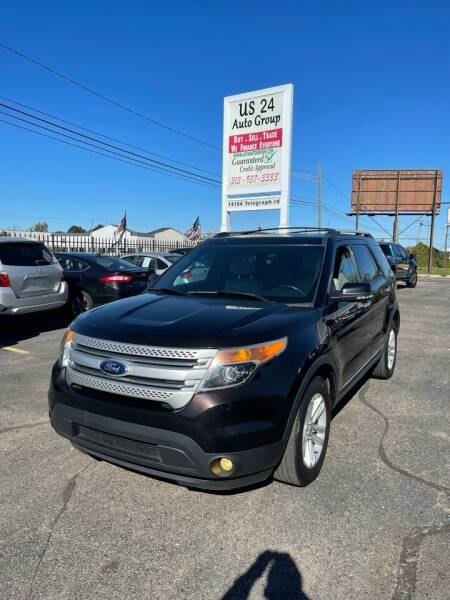 2013 Ford Explorer for sale at US 24 Auto Group in Redford MI
