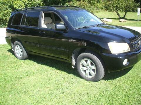 2003 Toyota Highlander for sale at FOUR SEASONS MOTORS in Plainview MN