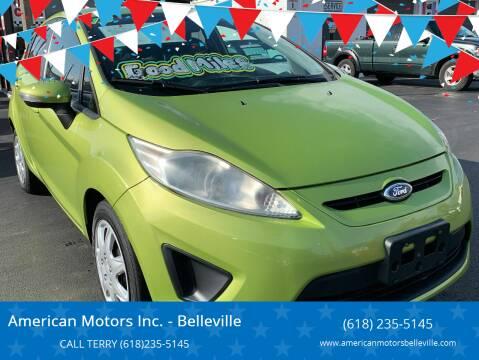 2013 Ford Fiesta for sale at American Motors Inc. - Belleville in Belleville IL